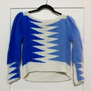 Vintage two tone sweater - XS